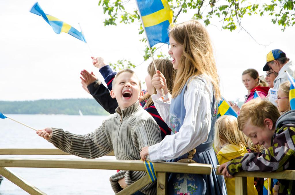 Invigning av ångbåtsbryggan i Björboholm på nationaldagen 2012