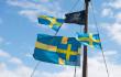 Svenska flaggan och Jolly Roger