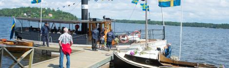 Ångbåten Herbert vid Björhoholms ångbåtsbrygga
