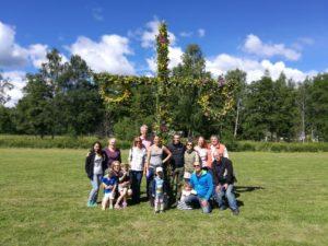 Bilder från midsommar i Björboholm