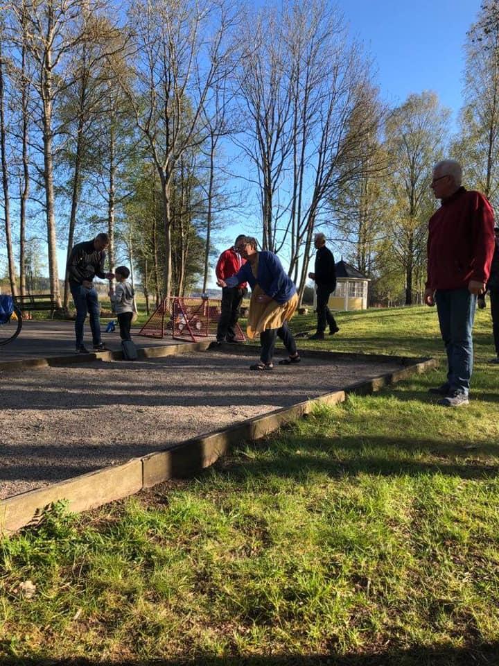 Boule i Björboholmsparken.