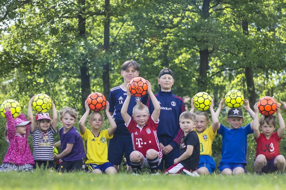 Knattefotboll i Björboholm 2020.